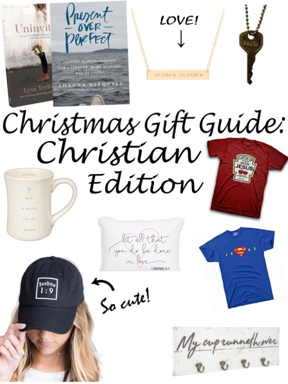 christian gift guide